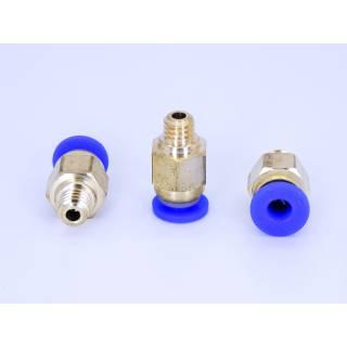 Pneumatik Schnellverbinder PC4 M5 Messing