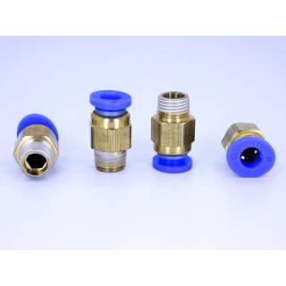 Pneumatik Schnellverbinder PC6-01 Messing