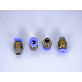 Pneumatik Schnellverbinder PC4-01 Messing