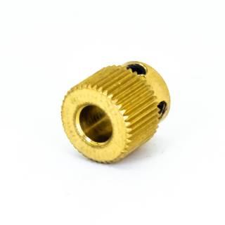 Extruder Zahnrad 40 Zähne - 11 mm - Für 5 mm Achse - Messing