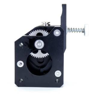 Dual Drive Direct Extruder - Alu - Links